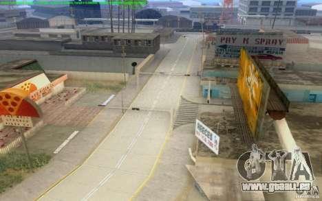 Konkrete Straßen von Los Santos Beta für GTA San Andreas elften Screenshot