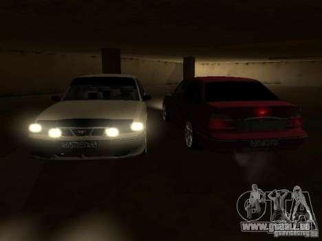 Daewoo Nexia pour GTA San Andreas salon