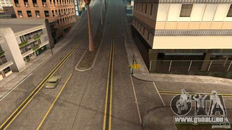 New HQ Roads pour GTA San Andreas troisième écran