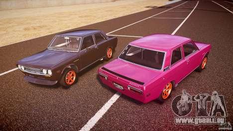 Datsun Bluebird 510 Tuned 1970 [EPM] pour GTA 4 est une vue de dessous