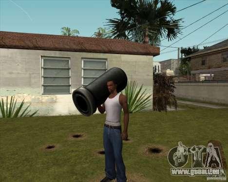 Canon de Serious Sam pour GTA San Andreas