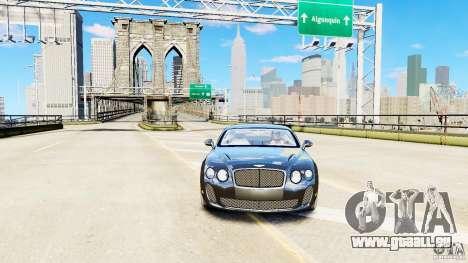 Bentley Continental SuperSports v2.5 für GTA 4 rechte Ansicht