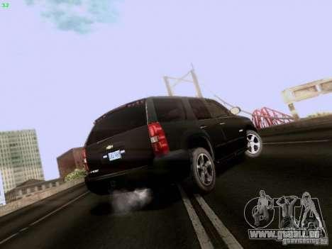 Chevrolet Tahoe 2009 Unmarked für GTA San Andreas rechten Ansicht