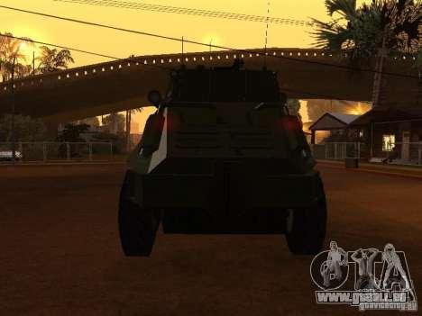 APC-60FSV pour GTA San Andreas vue de côté