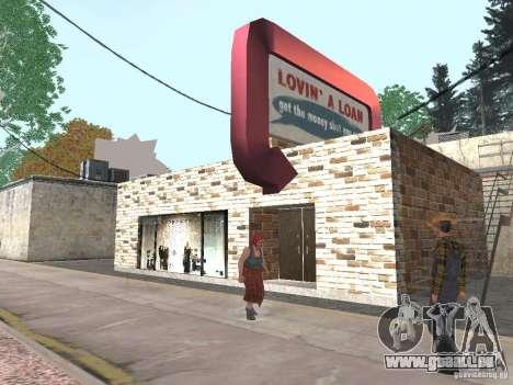 Geänderte Angel Pine village für GTA San Andreas dritten Screenshot