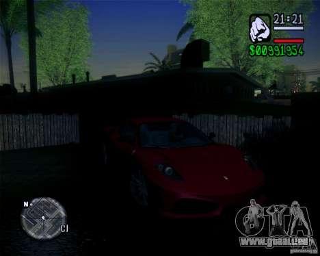 New Fonts 2011 pour GTA San Andreas quatrième écran
