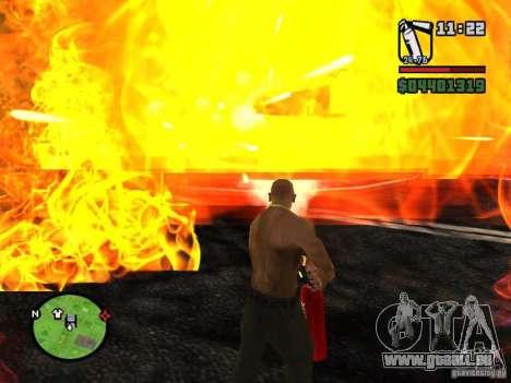 Neue Feuerlöscher für GTA San Andreas dritten Screenshot