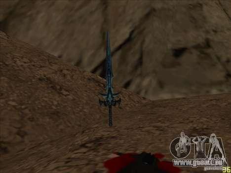 Frostmorn-épée de WoW Lich King pour GTA San Andreas deuxième écran