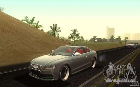 Audi S5 Black Edition für GTA San Andreas
