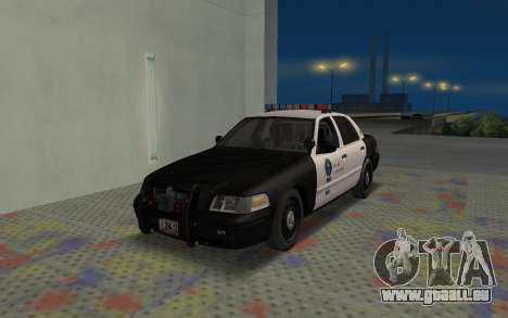 Ford Crown Victoria Police Interceptor LSPD pour GTA San Andreas
