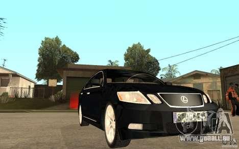 Lexus GS430 2007 pour GTA San Andreas vue arrière