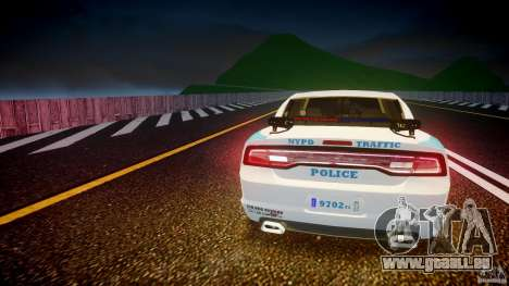 Dodge Charger NYPD 2012 [ELS] pour GTA 4 Salon
