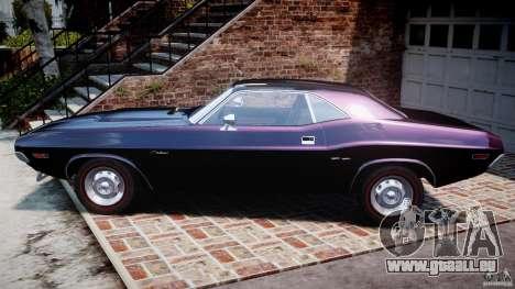 Dodge Challenger 1971 RT für GTA 4 linke Ansicht