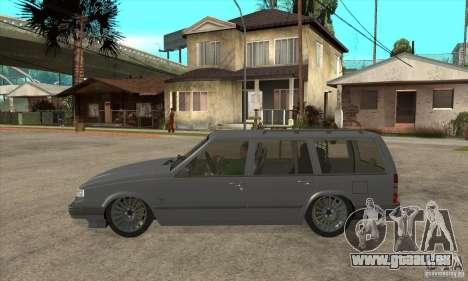 Volvo 945 Wentworth R pour GTA San Andreas laissé vue