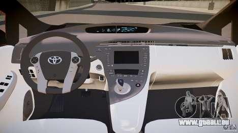 Toyota Prius 2011 pour GTA 4 Vue arrière