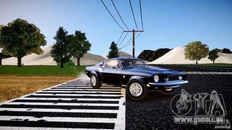 Ford Shelby GT500 KR 1968 pour GTA 4 est une gauche