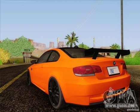 BMW M3 GT-S für GTA San Andreas linke Ansicht