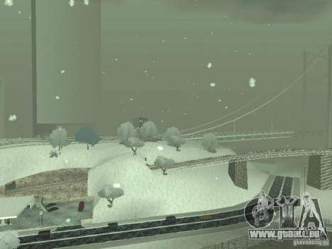 Neige v 2.0 pour GTA San Andreas septième écran