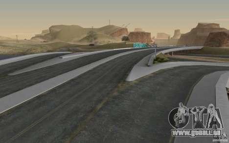 Route de HD v 2.0 finale pour GTA San Andreas cinquième écran