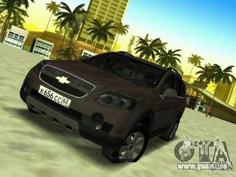 Chevrolet Captiva pour GTA San Andreas vue arrière