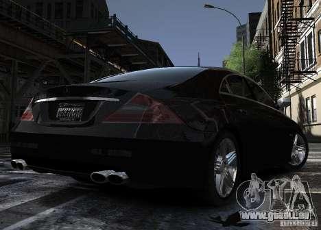 Mercedes-Benz CLS 63 AMG für GTA 4 Rückansicht
