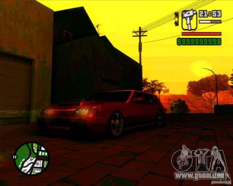 Pare-brise et nouveaux phares pour GTA San Andreas