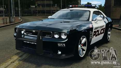 Dodge Challenger SRT8 392 2012 Police [ELS][EPM] für GTA 4