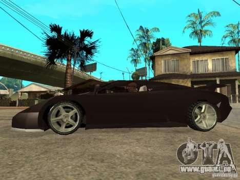 Buggati EB110 pour GTA San Andreas laissé vue