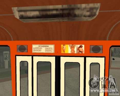 LIAZ-677 (moment de Café) pour GTA San Andreas vue de côté