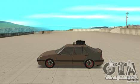 Saab 9000 GT Drifting 1998 für GTA San Andreas linke Ansicht