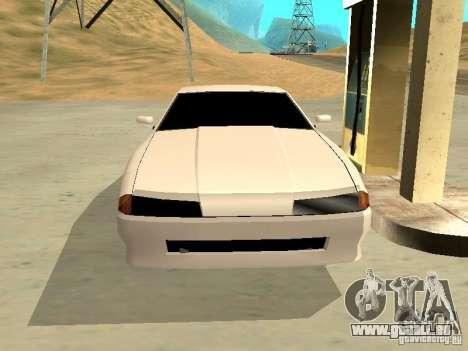 New Elegy v.1 für GTA San Andreas Innenansicht