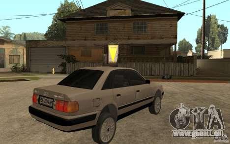 Audi 100 C4 1992 pour GTA San Andreas vue de droite