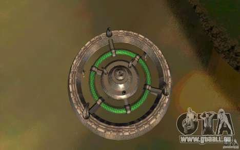 UFO hunter für GTA San Andreas zurück linke Ansicht