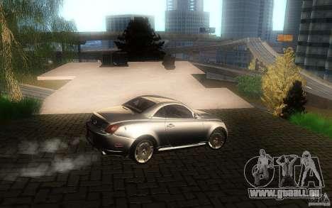 Lexus SC430 für GTA San Andreas Seitenansicht