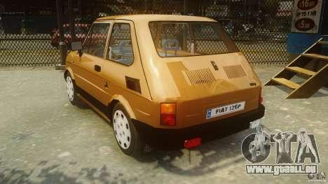 Fiat 126p FL Polski 1994 Wheels 2 für GTA 4 hinten links Ansicht