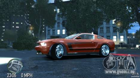 Ford Mustang Boss 302 2012 pour GTA 4