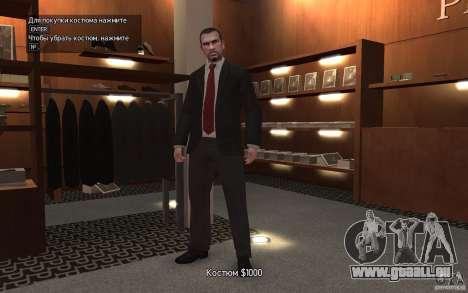 Offene Jacken mit Krawatten für GTA 4 weiter Screenshot