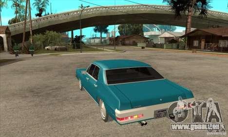Pontiac LeMans pour GTA San Andreas sur la vue arrière gauche
