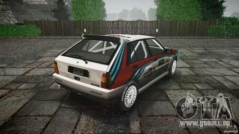 Lancia Delta Integrale Martini 1992 pour GTA 4 est un côté