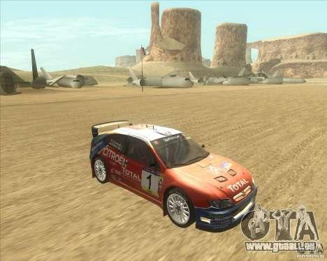 Citroen Xsara WRC für GTA San Andreas