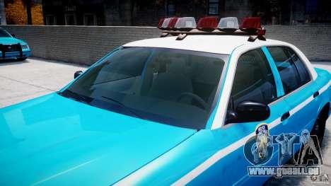 Ford Crown Victoria Classic Blue NYPD Scheme pour le moteur de GTA 4