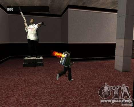 Intérieurs cachés 3 pour GTA San Andreas huitième écran