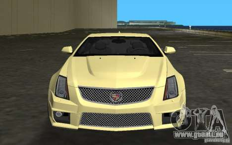 Cadillac CTS-V Coupe für GTA Vice City linke Ansicht