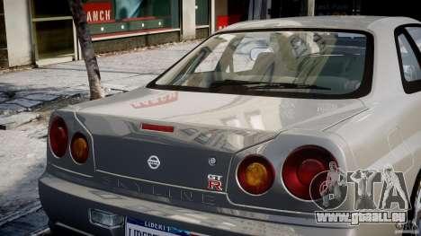 Nissan Skyline R34 Nismo für GTA 4-Motor