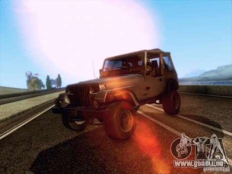 Jeep Wrangler 1994 für GTA San Andreas