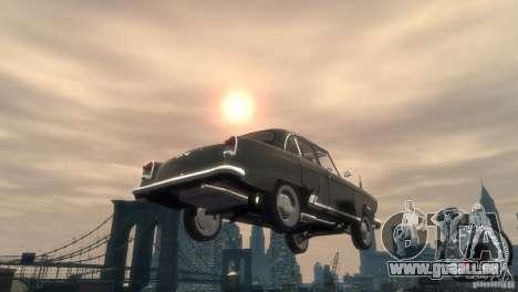 GAZ 21 1965 für GTA 4 obere Ansicht