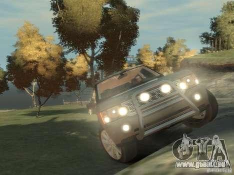 Range Rover Supercharged 2008 pour GTA 4 est un droit