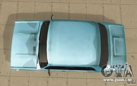 Fiat 125p pour GTA San Andreas vue de droite