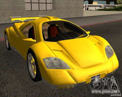 Conceptcar Nimble für GTA San Andreas rechten Ansicht