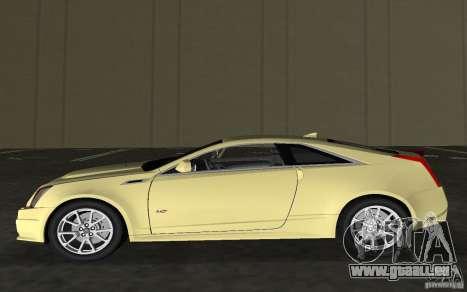 Cadillac CTS-V Coupe für GTA Vice City Innenansicht